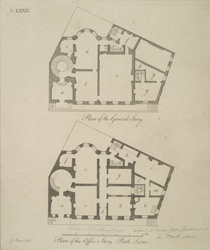 [Plan of the Marquis of Breadalbane's House, 21 Park Lane]
